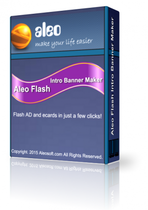 Aleo Flash Intro Banner Make 4.0 Rus