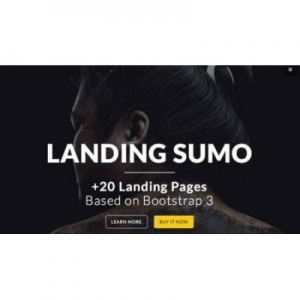 CreativeMarket - LandingSumo + 20 Landing Pages