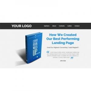 Эффективный Landing Page для электронного руководства