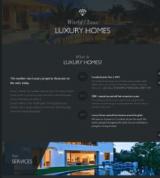 Лендинг по недвижимости Luxury Homes