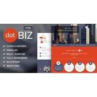 dotBIZ - универсальный шаблон Landing Page