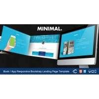Minimal — Landing Page c адаптивной версткой