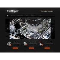 CSS шаблон по ремонту автомобилей