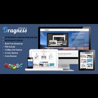 Dragness – Premium WordPress Landing Page