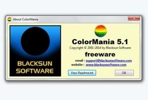 ColorMania 5.1 + Portable (английская версия)