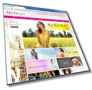 Для женского интернет магазина: HTML, CSS