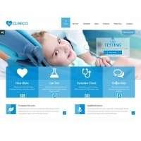 HTML шаблон для стоматологических клиник
