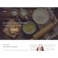 """HTML шаблон """"Кухня"""" на Bootstrap 3"""