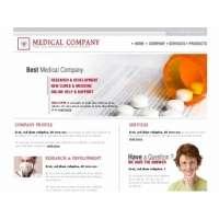 Html шаблон сайта для аптеки, медицина