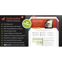 Лендинг JustLanded v1.5.6 – WordPress
