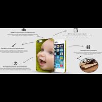 Landing page эксклюзивные чехлы для iphone (4 вариант)
