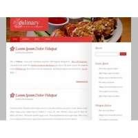 Красивый лендинг - блог для кулинара