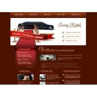 Шаблон для сайта лендинг автомобильной аренды