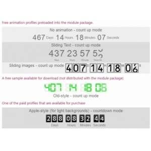 Модуль Smart Countdown для Joomla