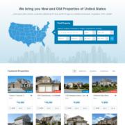 Лендинг недвижимость Real Expert