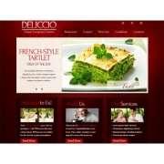 Css шаблон сайта - ресторанный бизнес