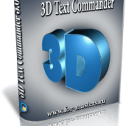 Insofta 3D Text Commander v.3.0.3 Rus