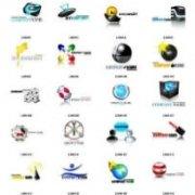 30 PSD логотипов на любую тематику