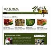 Красивый html шаблон сайта с рецептами