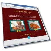 Шаблон сайта по вязанию: HTML, CSS, 7 страниц