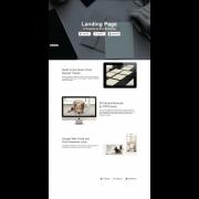 landing page на html5 (psd, muse в комплекте)