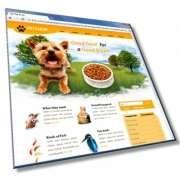 Шаблон сайта о животных: HTML, CSS, 6 страниц