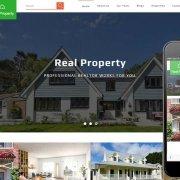 Лендинг недвижимость Real property