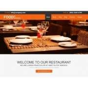 Лендинг для ресторанов Restaurant