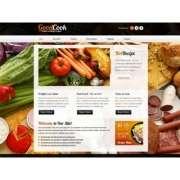"CSS шаблон сайта - ""Блог повара"""