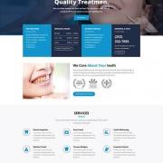 Лендинг стоматологической клиники Dental Pro